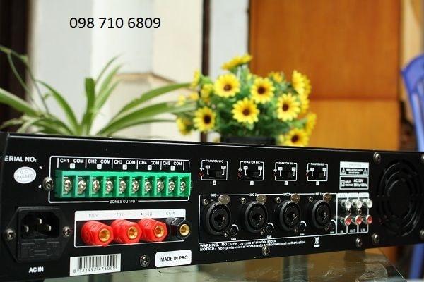 Đặc điểm của AMPLY DB LP-200T CHIA 5 VÙNG 200W