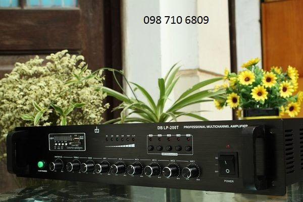 AMPLY DB LP-200T CHIA 5 VÙNG 200W chính hãng