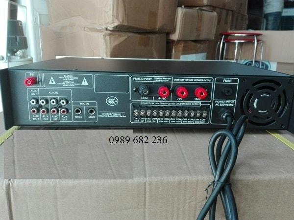 Mặt sau Amply APU USB 80W