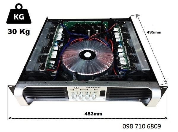 CỤC ĐẨY DB TK4800 có hệ thống giảm nhiệt