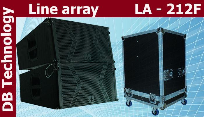 Loa line Array LA 212F bass 30 chất lượng