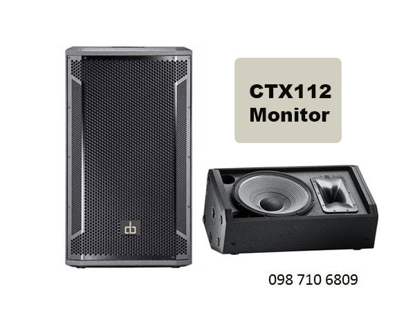 Đặc điểm của LOA DB CTX 112 MONITOR