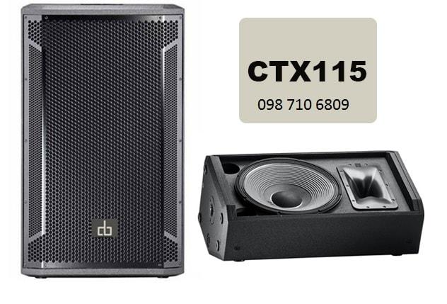 LOA FULL ĐƠN CTX 115 công suất lớn