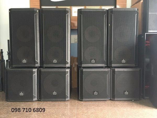 LOA SUB ĐƠN DB CTX 118S có công suất lớn