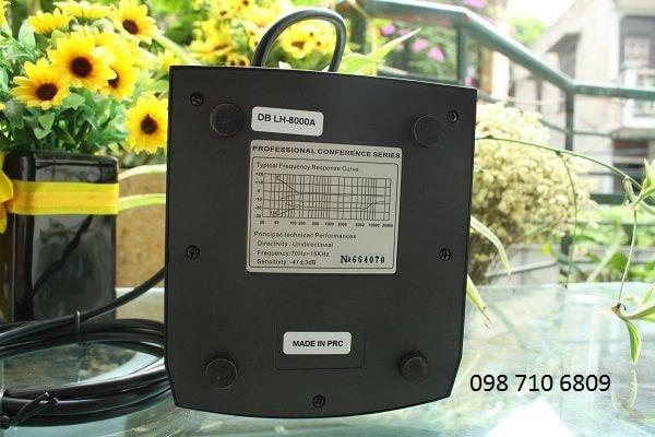 Thông số của MICRO CHỦ TỌA DB LH-8000A
