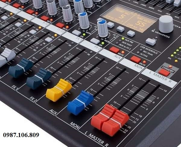 Thiết kế Mixer CMS 600