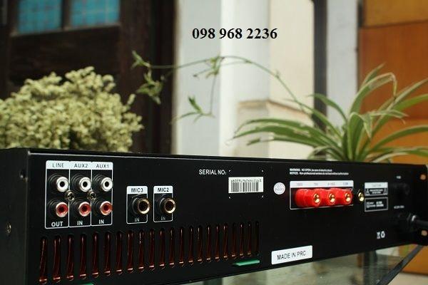 Mặt sau Amply DB LP 480F