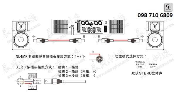 Chi tiết Loa CF TQ 15