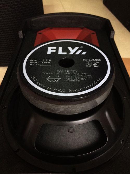 Củ bass của loa FLY KR1001