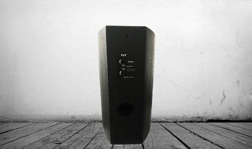 Thiết kế góc cạnh mạnh mẽ loa FLY KR1201 c