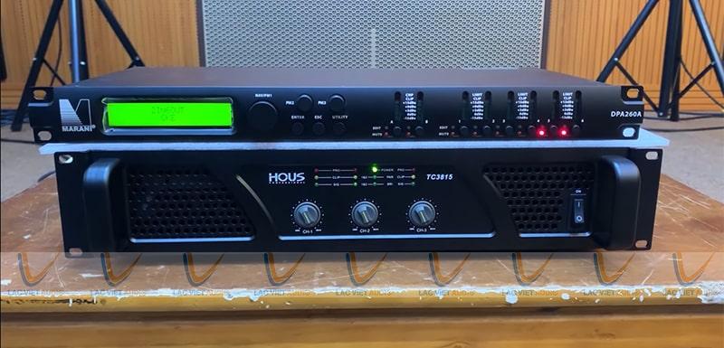 Cục đẩy Công suất HOUS TC-3815 được tin dùng tại nhiều nơi