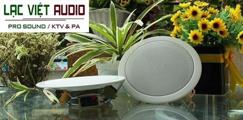 Loa âm trần 6W phổ biến với hệ thống âm thanh thông báo