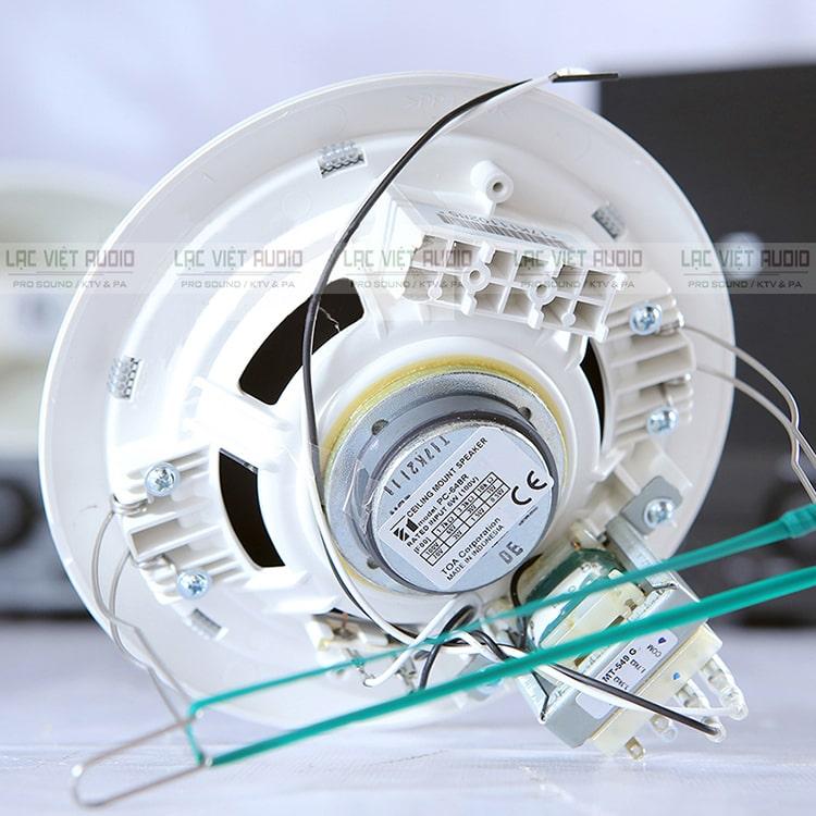 Mặt sau loa âm trần toa 6w - PC-648R