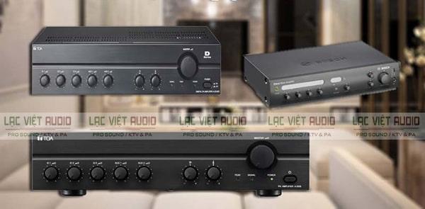 Mua các sản phẩm amply cho loa âm trần chính hãng tại Lạc Việt Audio